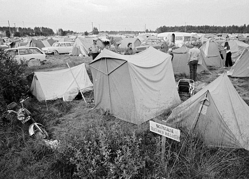 Camping forbidden