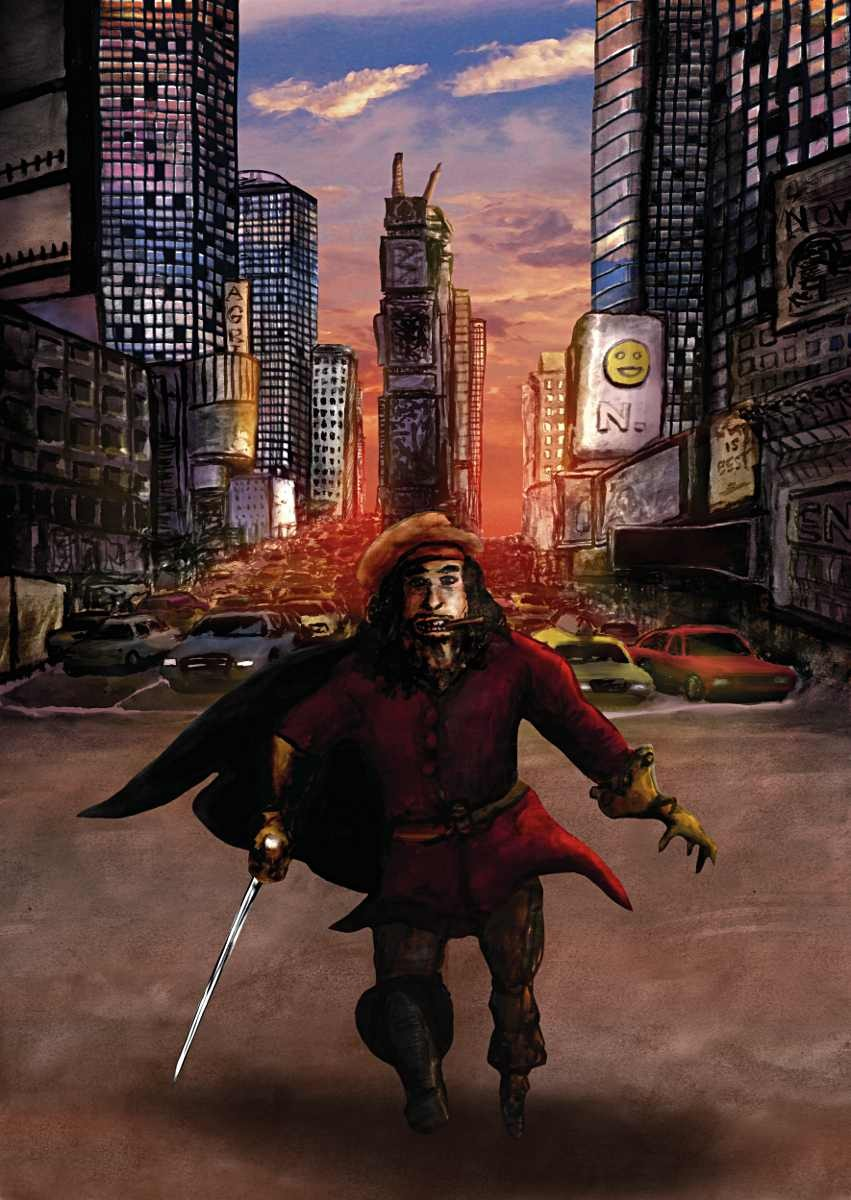 A pirate in New York