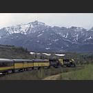A train in Alaska