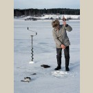 Ice-hole fishing