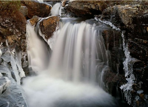 Waterfall in Inari
