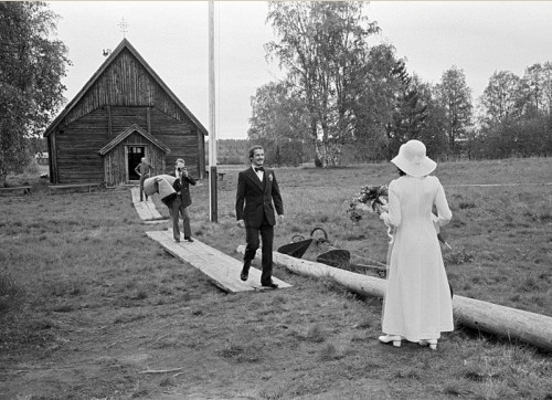 A wedding in Turkansaari
